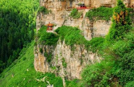 忻州到西安沿途风景