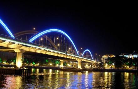 蓝海豚珠江夜游