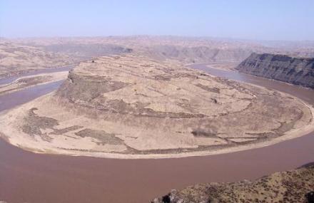 山西黄河第一湾