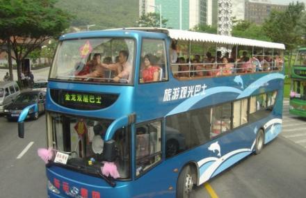 青岛都市观光巴士旅游一票通