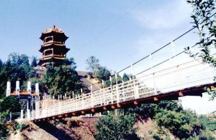 岳山寺景区