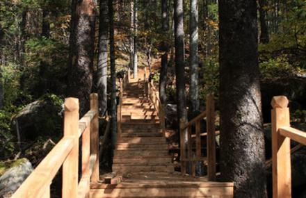 鹤岗金顶山国家森林公园