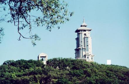 碧松净月塔楼