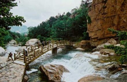 仰口风景游览区