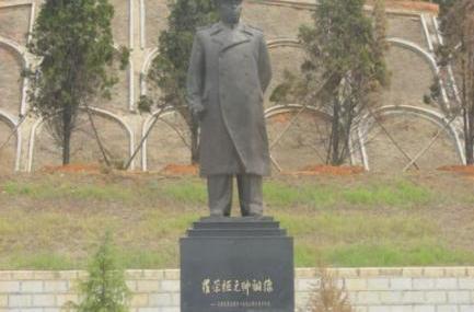 罗荣桓元帅铜像