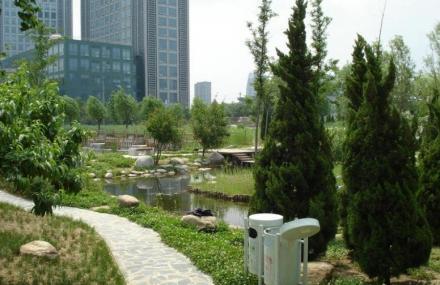 郑东新区湿地公园