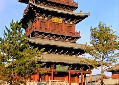 华严寺砖塔