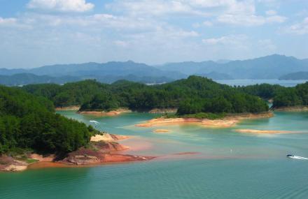 千岛湖云濛溪