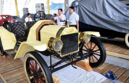 天津首届国际老爷车博览会