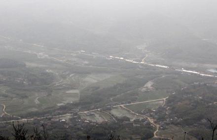 云灵山大峡谷
