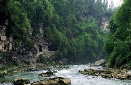 御泉河漂流
