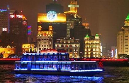 上海黄浦江游览清游江船