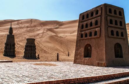 银肯塔拉沙漠生态文化旅游区
