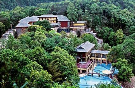 九连山原始森林度假村