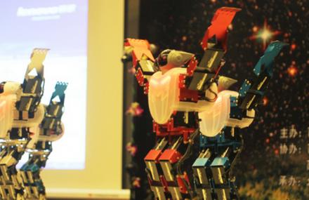 穹窿山机器人航天展