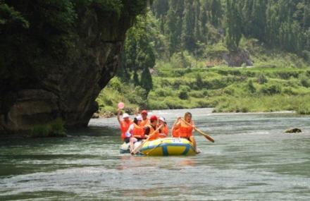 油溪河漂流