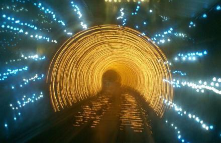 外滩观光隧道