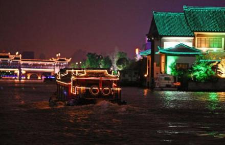 苏州环古城游船
