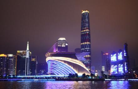 珠江夜游省总码头