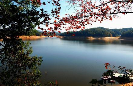 景点介绍 潭湖风景区位于南丰县城东南部,距县城18公里.