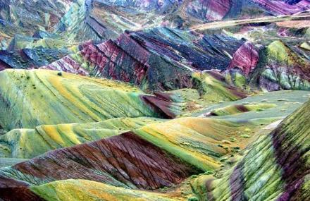 张掖丹霞地质公园